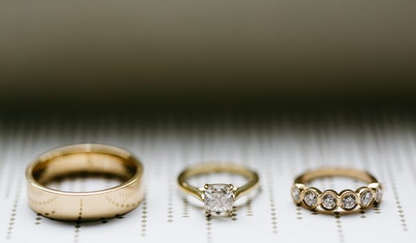 Putting Wedding Rings in a Beautiful Light