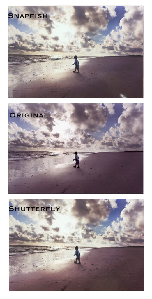 snapfish vs shutterfly for HDR image