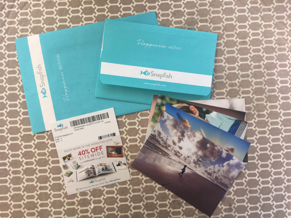 snapfish packaging review