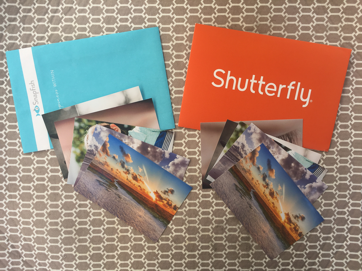 snapfish vs shutterfly